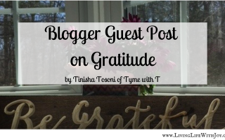 blogger guest post on gratitude